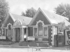 Sydenham Library in 1950